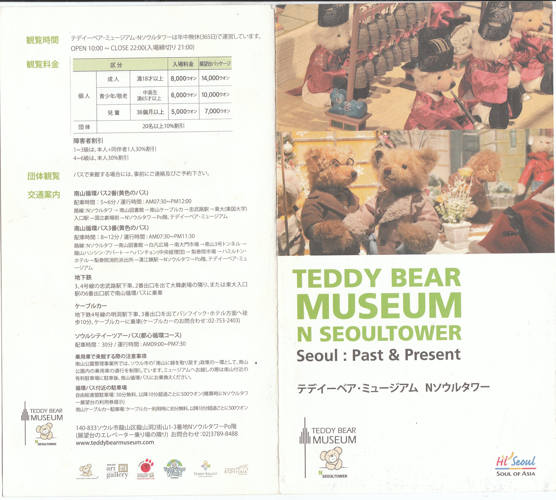 Présentation du musée Teddy Bear